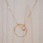 """MzL - Collier """"Anatole"""" Or 14 Carats - Poudre"""