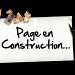 Page en cours de réalisation